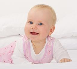 Baby eerste tandje